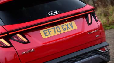 Hyundai Tucson MHEV - rear detail