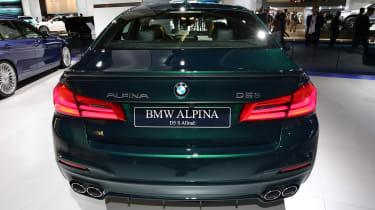 Frankfurt - BMW Alpina D5 S - boot