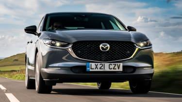 Mazda CX-30 e-Skyactiv X - full front