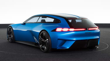 Peugeot Instinct concept - rear static