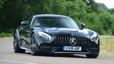 Mercedes-AMG GT C - front cornering