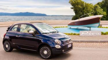 Fiat 500 Riva - front cornering