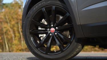 Jaguar E-Pace review - wheel