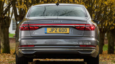 Audi A8 - full rear static