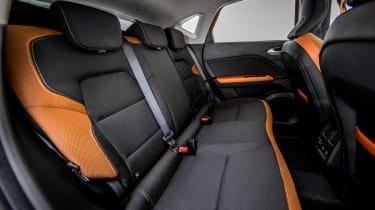Renault Captur - rear seats