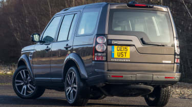 Range Rover Discovery 4 - rear