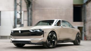 Peugeot e-Legend- front action