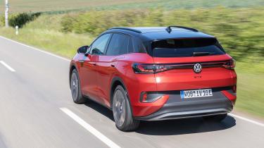 Volkswagen ID.4 GTX rear tracking