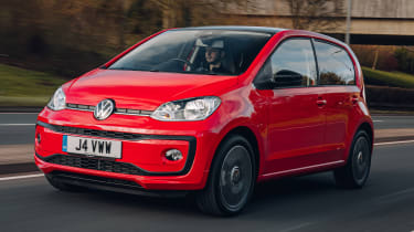 Volkswagen Up - O/S tracking