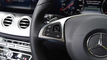 Mercedes E 350e - steering wheel