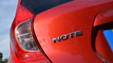 Nissan Note badge