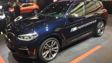 Detroit Motor Show - BMW X3 M40i