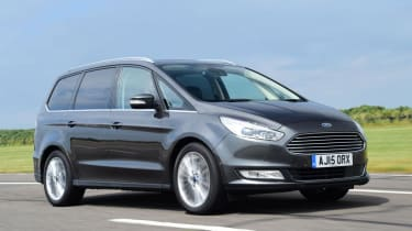 Used Ford Galaxy - front action