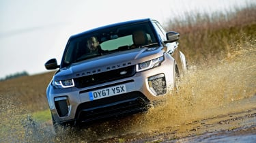 Range Rover Evoque SD4 - front off-road