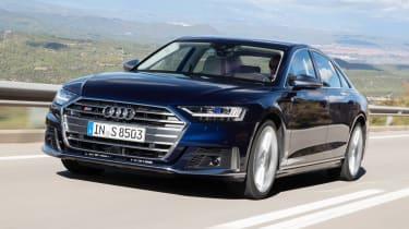 Audi S8 - front
