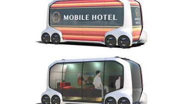 Toyota e-Palette - hotel
