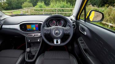 MG3 - interior