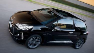 Citroen DS3 Cabrio front action