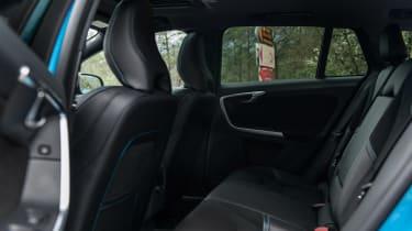 Volvo V60 Polestar - rear seats