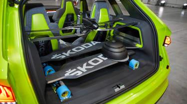Skoda Vision X concept - boot