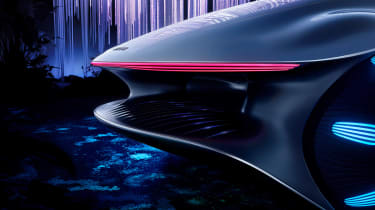 Mercedes Vision AVTR concept - rear light