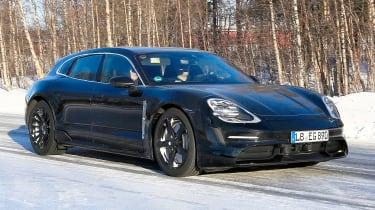 Porsche Taycan Sport Turismo - spyshot 3
