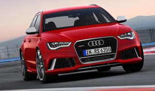 Audi RS6 Avant front