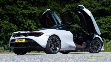 McLaren 720S - rear doors open
