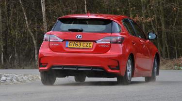 Lexus CT 200h rear action