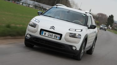 Citroen Advanced Comfort Concept 2017 - Cactus tracking