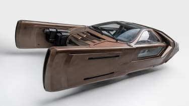 Petersen Automotive Museum  - Spinner Blade Runner - front static