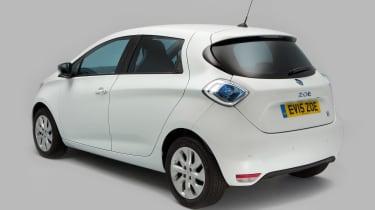 Used Renault ZOE - rear
