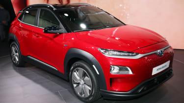 Hyundai Kona Electric - Geneva front