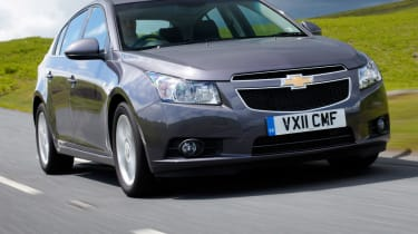 The Chevrolet cruze is based on the same platform as the Vauxhall Astra.