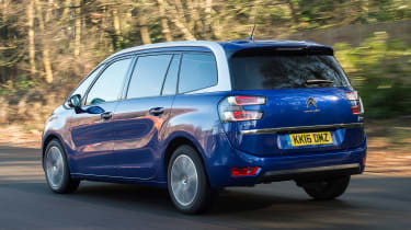Citroen Grand C4 Picasso - rear
