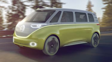 Volkswagen I.D. Buzz - front action