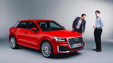 Audi Q2 Studio front