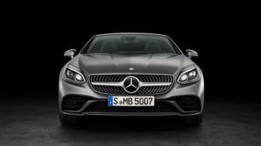 Mercedes SLC roadster - nose