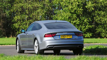 Used Audi A7 Sportback - rear action