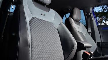 Volkswagen T-Roc R - seat detail