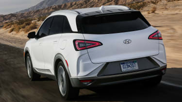 Hyundai NEXO fuel cell SUV - rear