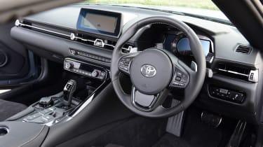 Toyota Supra 2.0 - dash