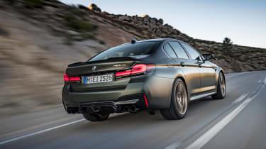 BMW M5 CS - rear action