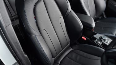 BMW X2 - front seats