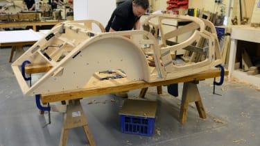 Morgan factory - chasis