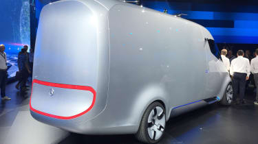 Mercedes Vision Van - reveal rear