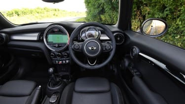 MINI Cooper S Convertible - cabin