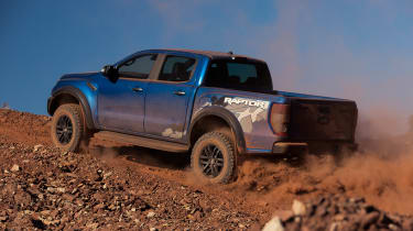 Ford Ranger Raptor - rear