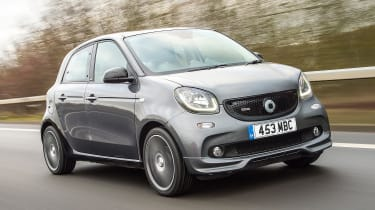 Smart Brabus ForFour 2017 - front tracking