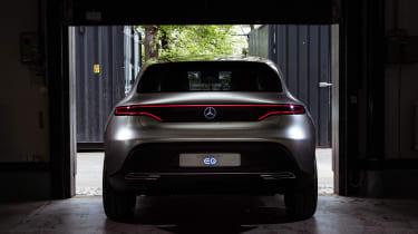 Mercedes EQ Concept - full rear